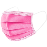 pink 50 Pack 3 Ply Disposable Masks Choose from a pack of 50 Black or Pink Buy in bulk and save! viruses virus ply pink packs pack Masks Mask flu face disposable covid19 covid-19 covid coverup covers Coverings Covering coverage cover coronavirus corona breathe boxes Box black anti-virus 50pcs 50-Pack 50