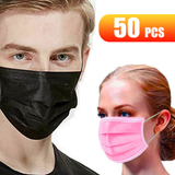 50 Pack 3 Ply Disposable Masks Choose from a pack of 50 Black or Pink Buy in bulk and save! viruses virus ply pink packs pack Masks Mask flu face disposable covid19 covid-19 covid coverup covers Coverings Covering coverage cover coronavirus corona breathe boxes Box black anti-virus 50pcs 50-Pack 50
