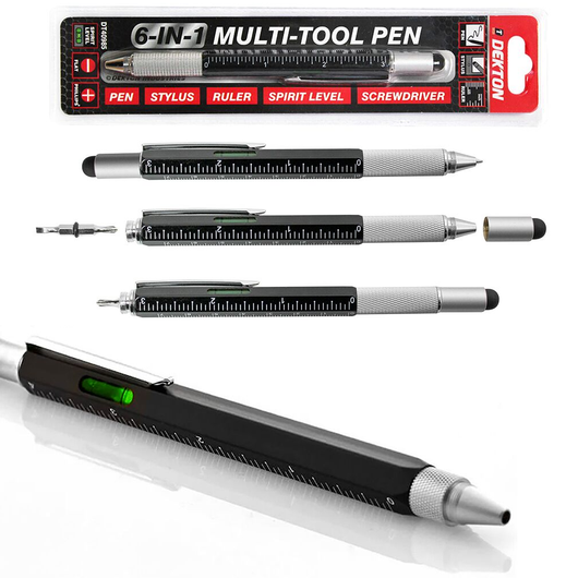 Dekton Expert 6-in-1 Construction Tool Pen