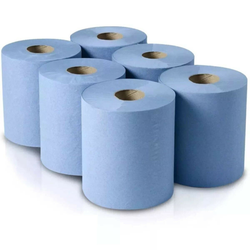6 Pack of Workshop Hand Towel Rolls workplace and home Strong, absorbent 2 ply paper towels mops us spills, cleans and dries 400 sheets Bumper Workshop work wipes wipe towels towel toilets Toilet strong six rolls roll ply Paper Pack of mops Hands Hand feed Centre bathrooms bathroom absorbent