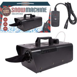 Stage Lighting & Effects Pro 1500w Snow Maker Snowflake Machine Stage Dj Flake Effect Two Speed Maker Refreshing And Beneficial To The Eyes Musical Instruments & Gear