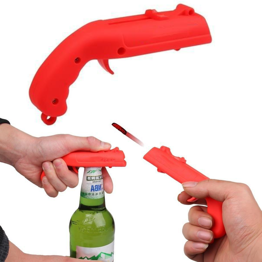 Beer Bottle Opener Shooter fun at parties a fantastic little gadget partys party throw Shooter shoot Opener's opener Open Launcher guns gun game gadget's Gadget Drinkware drinking games drinking drink's drink creative bottles bottled bottle beers beer