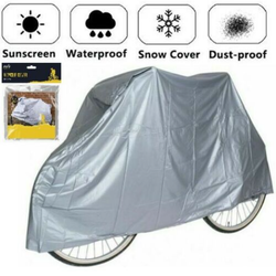 Bicycle Rain Cover thick protective material perfect for safeguarding bicycles rust dirt dust Weatherproof weather Waterproof snowy Snowing Snowflakes Snowflake snow rainy raining rainfall motorcycles motorcycle motorbikes Motorbike Lightweight cycles cycle covers Coverings Covering coverage bikes Biker bike chain