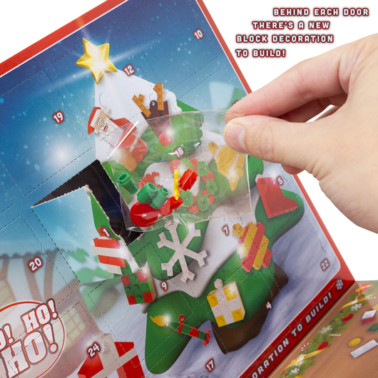 Block Tech Advent Calendar This lego-compatible construction kids create 24 different festive decorations countdown to Christmas xmas with Tech Lego kid's kid girls girl gift Father christmas december Compatible christmas tree christmas day childs Children's Children child calendars Building build boys boy blocks