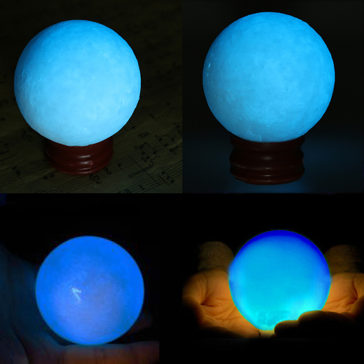 Blue Glow In The Dark Night Pearl
