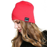 pink Bluetooth Music Beanie hat with built-in speakers listen to music Take phone calls mic removable Charge via a USB cable women Wireless Unisex travel Smart musician music mobile Men Knitted headsets Headset headphones Headphone hats hat girls earphones earphone Earbuds earbud caps Cap boys Bluetooth beanies Beanie