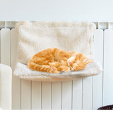 Cat Hanging Radiator Bed