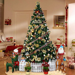 Colorado Spruce Christmas Tree Make decorating simple with this easy-to-assemble tree Fast delivery within the UK Xmas trees Traditional standing stand's Stand rooms room Pine Metal Luxury livingroom living indoors Indoor Home Hausen Green gift Father christmas Decorations decoration decor Christmas-Theme Bushy bush branches Branch Artificial