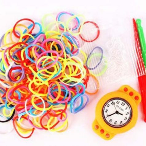 Colourful Loom Band Watch Kit