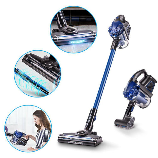 Cordless LED Convertible Vacuum Cleaner