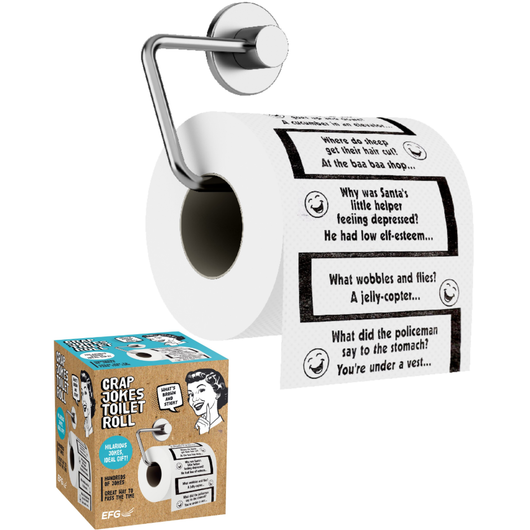Crap Jokes Toilet Roll