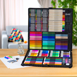 164pc Creative Art Sets Set presents present Pens Pencils pencil pen parties painting paint kids kid girls girl gift fun drawing draw creator creativity creative play creating create crayons crayon crafts Craft colours Colouring colourful Coloured Colour christmas childrens Children child brushes brush boys boy