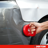Dekton Dent Puller and Suction Cup Save time and money with this powerful suck and weight vehicles vehicle travel tools Tool robust repairs Repair removes removers remover remove Removal release pulling Pullers Pull Panel mechanic large Home holding handle grip Goodyear good flat Dents cars car bodywork 30Kg
