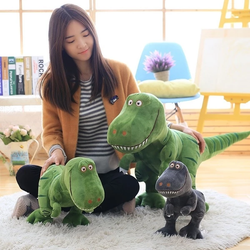 Dinosaur T-Rex Plush Toy Fun friendly dino pal made from super soft plush fabric best cuddles wonderful detailing perfect gift for children prehistoric Treat Toys Toy Stuffed Soft Rex Prehistoric Plush kids Jurassic Girls Girl Gift Dolls Doll dinosaurs dino Cute Christmas childrens children child Boy Birthday