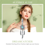 Dream Catcher Pendant Necklace beautifully made stylish design with coloured jewels symbolic meaning, woman Wear symbolic stylish sterling silver Shaped Pendants necklaces necklace jewels Jewelry Jewellry jewellrey jewellery Home girls girl gift Fashion diamonds diamond Charms charm catchers bracelets Bracelet beauty beautiful and