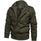 green Casual Military Style Jacket Upgrade outerwear perfect smart any occasion style with button down shoulder & cuff stand up collar smart-casual smart pockets Outerwear Military menswear mens mans man jackets jacket fleeces fleeced fleece everyday comfortable coats coated coat Casuals casual dress Casual attire
