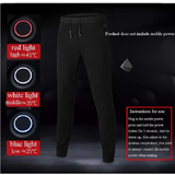 Smart Heated Electric Trousers Beat the cold multi-functional comfortable casual extra warm wintersports winters winter warmth warm trousers Trouser smart Pants outdoors outdoor activities menswear mens legs inflammation Heated Heat electrical electric comfortable cold circulation casual arthritis