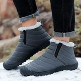 grey Unisex Winter Snow Boots Comfortable and lightweight, it's like wearing slippers! Faux fur lining feet warm during autumn and winter waterproof Water resistant warmth warming Warmer warm Unisex Snow boot Snow Ski Non-slip Lined Lightweight Keep inside Flats Faux Fur Cotton Bottom Boots Boot Autumn Antiskid
