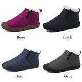colours Unisex Winter Snow Boots Comfortable and lightweight, it's like wearing slippers! Faux fur lining feet warm during autumn and winter waterproof Water resistant warmth warming Warmer warm Unisex Snow boot Snow Ski Non-slip Lined Lightweight Keep inside Flats Faux Fur Cotton Bottom Boots Boot Autumn Antiskid