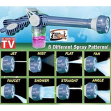 EZ Jet Water Cannon Easily connects to any garden hose Jet, Precision Jet, Mist, Rain, Angled Fan Clean cars, tires and rims Blast dirt off driveways, sidewalks, walkways, decks, and patios Washers wash Sprayer Spray Gun Soap pressure washers patio multi-functional high pressure guns gun gardening driveways decking cars caravans car wash