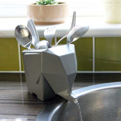 Elephant Kitchen Cutlery Drainer