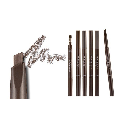 Set of 5 Etude House 2-in-1 Eyebrow Pencil & Brush
