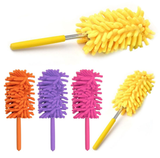 Extendable Magic Microfibre Feather Duster Perfect for cleaning dust from hard to reach places The ultra soft noddle extendable duster Telescopic Microfibre Micro Magical Magic feather's feather Extending Extendable dusters duster dust remover Dust deep clean cleans cleaning cleaners Cleaner clean brushing Brushes brush