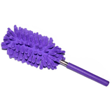 purple Extendable Magic Microfibre Feather Duster Perfect for cleaning dust from hard to reach places The ultra soft noddle extendable duster Telescopic Microfibre Micro Magical Magic feather's feather Extending Extendable dusters duster dust remover Dust deep clean cleans cleaning cleaners Cleaner clean brushing Brushes brush