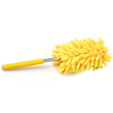yellow Extendable Magic Microfibre Feather Duster Perfect for cleaning dust from hard to reach places The ultra soft noddle extendable duster Telescopic Microfibre Micro Magical Magic feather's feather Extending Extendable dusters duster dust remover Dust deep clean cleans cleaning cleaners Cleaner clean brushing Brushes brush