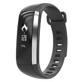 Fitness Tracker with Blood-O² & HR Monitor