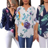 Women's Floral Blouse