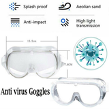 Flu PPE Protection Goggles Recommended personal protective equipment (PPE) anti-spitting eye splashes, sprays, and respiratory droplets viruses virus protects Protectors protector protecting Protected protect mask's Goggle glasses flu faces face eyewear eyes mask coronavirus antibacterial anti-virus anti-bac anti bacterial Anti