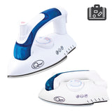 750W Foldable Blue Travel Steam Iron