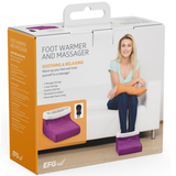 box Foot Warmer and Massager your feet are kept snug and warm relaxing massage soft, removable fleece lining Warmer Suede RELAXING relaxes relaxed relax massager's massager Heating Heaters Heater Heated Heat foot fleece feet electricals electrical electric's electric comfortable comfort