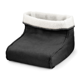 black Foot Warmer and Massager your feet are kept snug and warm relaxing massage soft, removable fleece lining Warmer Suede RELAXING relaxes relaxed relax massager's massager Heating Heaters Heater Heated Heat foot fleece feet electricals electrical electric's electric comfortable comfort