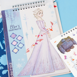 Frozen II Sticker Book fans young will love this fashion sketchbook wear Sven stickers Stickerbook stencil snow show queen princesses princess play pabbie Olaf kristoff kids girl gift fun frozen 2 Elsa drawing draw disney designing design crafts craft colours colouring colour Children child characters Books Book arts art Anna 2