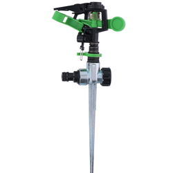 Garden Sprinkler Ground Spike Place this handy sprinkler in your garden and your lawn Tripod Sprinklers sprinkler springs spring sprays spraying spraygun Sprayer's Sprayer Spray Gun spray Spike pipes pipe lawns lawn hoses Hosepipe hose ground grass gardens gardening gardeners gardener garden Degree 360° 2fn