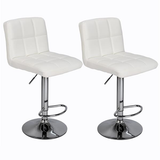 2 Gas Lift Bar Stools They come in sets of 2 bar stools A quality addition to a kitchen island stools stool set's set of 2 set Round rests rest Lifts lifting lift kitchens kitchen island high gas Cushions Cushioned cushion computer chairs chair barstools barstool bar's Backrest back Adjustable