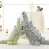 Choose Giant Crocodile Plush Toy Let your little ones have crocs of fun Makes the perfect edition for bedrooms, playrooms nurseries zoo wildlife wild Velvet toys toy soft snuggly seat Plush playset play time Oversized over sized nile large kids grey green gator fun cuddly cuddle crocodiles croc cotton Children alligator adventure