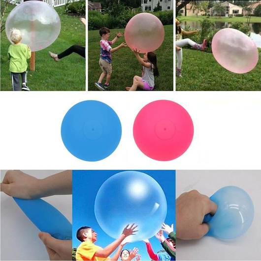 Giant Inflatable Bubble Balloon Children will have hours of fun without popping! ater vibrant Toy's toy Super stretch squishy squish Simple rugby robust Pure pops popping pool playing play oversized outdoor kids joy inflating inflate inflatables inflatable funny fun Children bubbles bubble bouncing bounce balloons balloon Ball's ball air abs