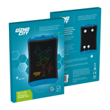 Gizmo City Kids' LCD Drawing Pad Draw beautiful and creative pictures take notes compile your to-do list writing board writing writes writer write pad's Pad LCD kids kid Gizmo girls girl gift fun draws drawing draw Digital colourful City childs childrens Children child boys boy