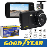 Goodyear 1080P Dual Lens Car DVR High resolution video footage taken used by the police and insurance companies false accident claims videos Recorders Recorder Rear lenses In-Car Front dvrs dashcams dashcam dash cam Dash cars caravans caravan car repair camera's Camera camcorder's Camcorder cam's Cam and