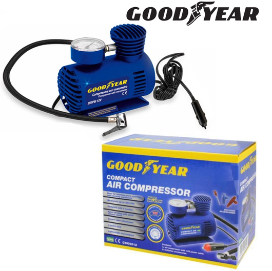 Goodyear Car Tyre Air Compressor Keeto