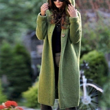 Green Hooded Waterfall Cardigan cut is perfect for pairing with skirts and tights denims Stunning relaxed fit for colder months staple season Women's womens women womans woman tops tights skirts Lady ladies jeans jackets jacket hoody Hoodies Hoodie hood girl's girl denim coats coat cloths clothing cardigans