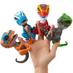 Interactive Finger Dinosaurs Meet these untamed Velociraptors! ferocious & unpredictable respond to sound, motion, & touch Tamed & Untamed toys toy raptors Raptor kid's Jurassic Interactive intelligent Induced girls girl gift Fingers finger Dinosaur's dinosaur dino childs childrens Children Childhood child boys boy