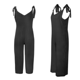 black Loose Fit Jump-Suit Stay cool and casual soft cotton super comfortable and stylish Women's women's women womans woman trending travel summer suits playsuits outfit's outfit jumpsuits Jumpsuit jump-suits Jump-Suit jump Home holiday girls girl FITTED Fit's Fit fashions fashionable fashion wear dressed dress-up cloths clothing clothes cloth