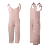 pink Loose Fit Jump-Suit Stay cool and casual soft cotton super comfortable and stylish Women's women's women womans woman trending travel summer suits playsuits outfit's outfit jumpsuits Jumpsuit jump-suits Jump-Suit jump Home holiday girls girl FITTED Fit's Fit fashions fashionable fashion wear dressed dress-up cloths clothing clothes cloth