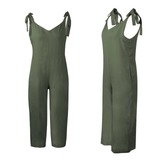 green Loose Fit Jump-Suit Stay cool and casual soft cotton super comfortable and stylish Women's women's women womans woman trending travel summer suits playsuits outfit's outfit jumpsuits Jumpsuit jump-suits Jump-Suit jump Home holiday girls girl FITTED Fit's Fit fashions fashionable fashion wear dressed dress-up cloths clothing clothes cloth