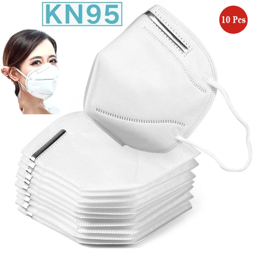 KN95 Face Masks Lightweight with comfortable and adjustable elastic bands protect against flu viruses, germs, dust, allergies, smoke, pollution, viruses virus noses Nose mouth mask's Mask healthy health and safety flu faces face eyes coronavirus corona bacteria ash anti-virus anti-flu anti 10Pcs 10PC 10