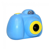 blue Kids Digital Camera child photographer point & press photo capture shock absorbing robust hard wearing Features LCD screen flash zoo toys toy SLR press pictures picture photography photo kid's HD grips girls girl gift fun Digital child's childrens Children child capturing Capture camera's boys boy 1080p